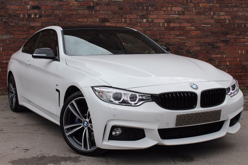 used BMW 420d M Sport 2dr DCT in yorkshire
