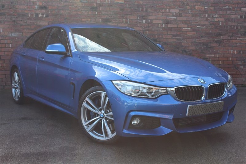 used BMW 430d XDRIVE M SPORT GRAN COUPE in yorkshire