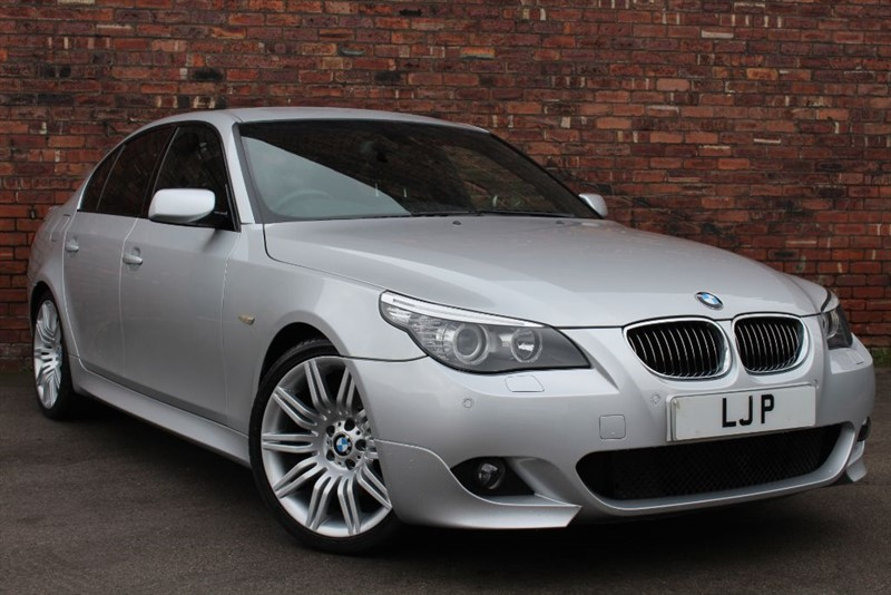 used BMW 525d M SPORT in yorkshire