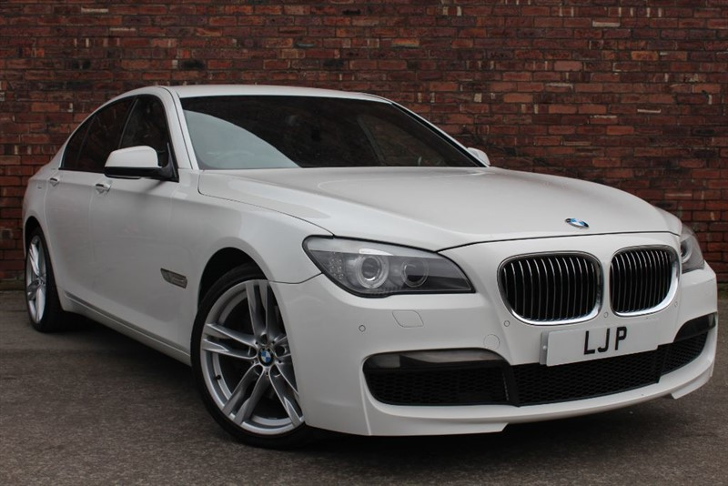 used BMW 730d M SPORT in yorkshire