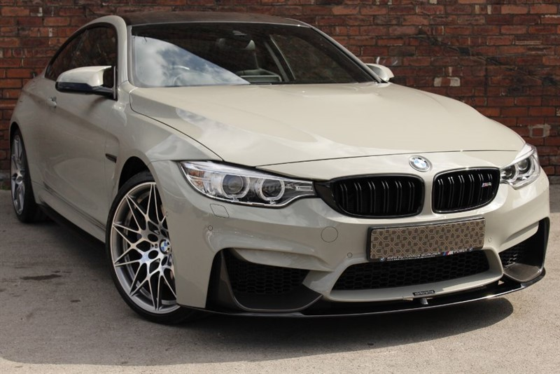 used BMW M4 COMPETITION PACKAGE in yorkshire