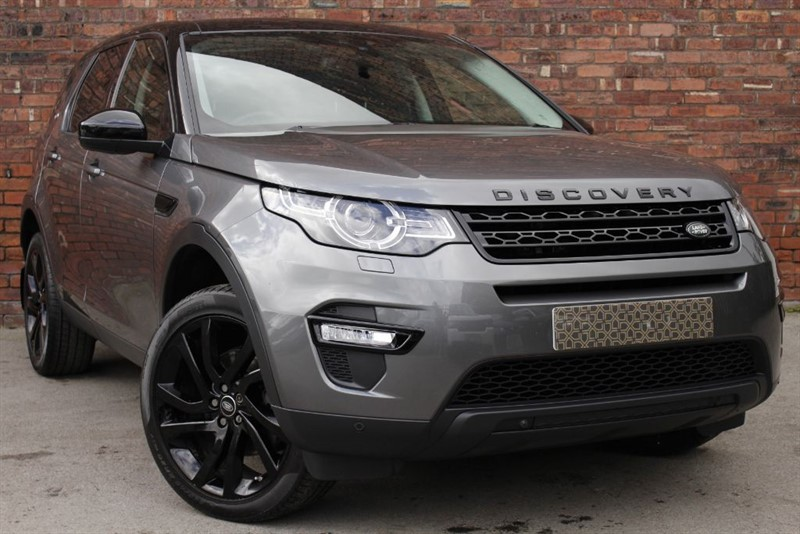 used Land Rover Discovery Sport TD4 HSE BLACK in yorkshire