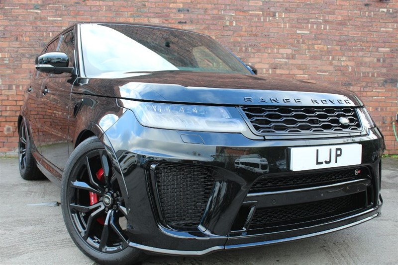 used Land Rover Range Rover Sport SVR in yorkshire