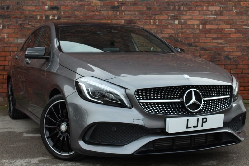 used Mercedes A220 A-CLASS A 220 D 4MATIC AMG LINE PREMIUM PLUS in yorkshire