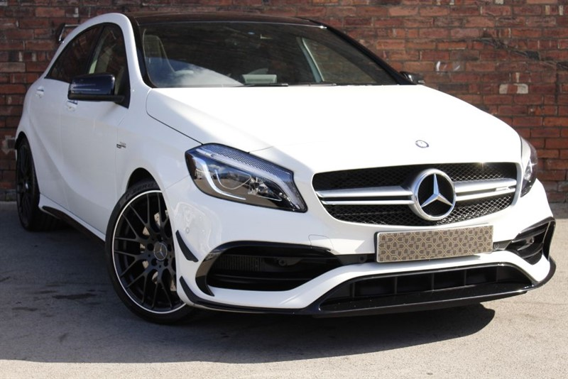 used Mercedes A45 AMG A-CLASS AMG A 45 4MATIC PREMIUM in yorkshire