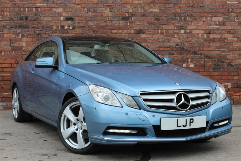 used Mercedes E220 CDI BLUEEFFICIENCY SE in yorkshire