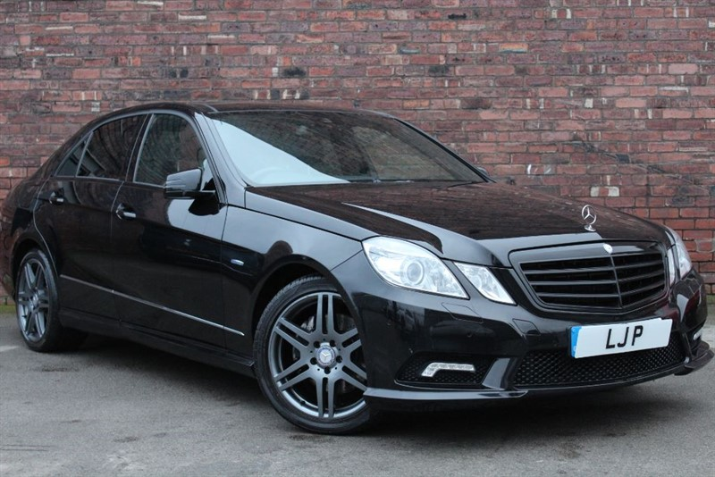 used Mercedes E350 CDI BLUEEFFICIENCY SPORT in yorkshire