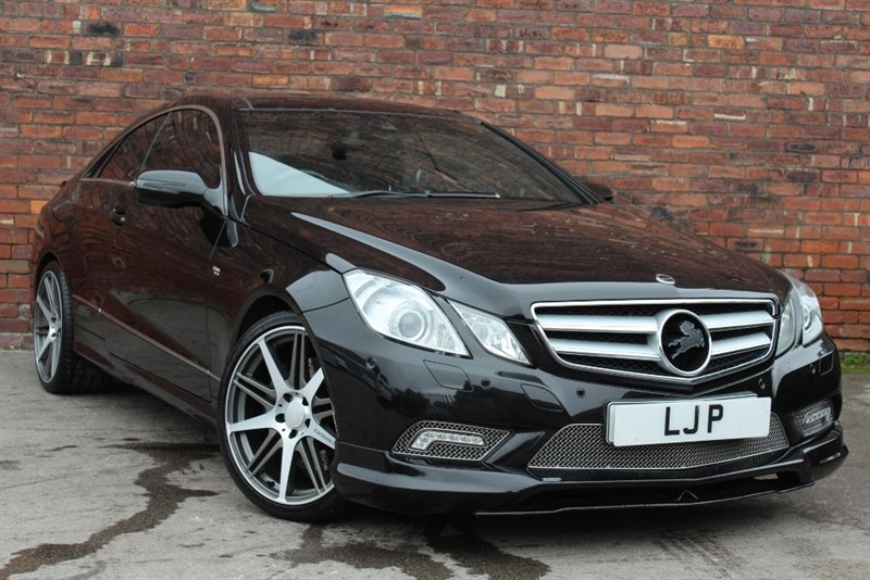 used Mercedes E500 SPORT in yorkshire