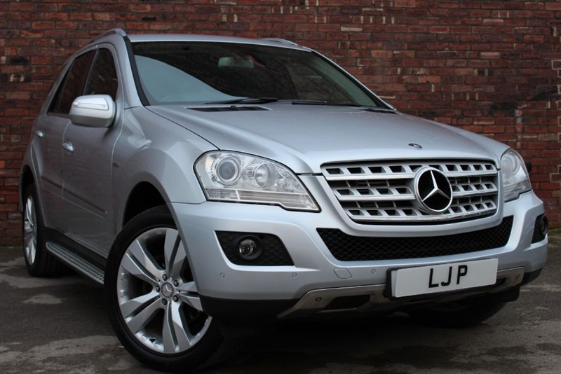 used Mercedes ML300 CDI BLUEEFFICIENCY SPORT in yorkshire