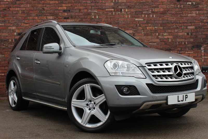 used Mercedes ML350 CDI BLUEEFFICIENCY SPORT in yorkshire