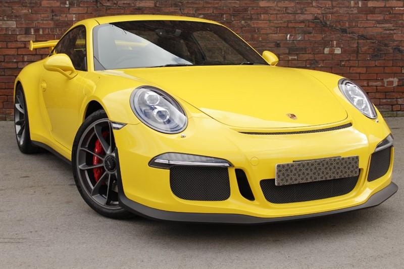 used Porsche 911 GT3 991 GT3 in yorkshire