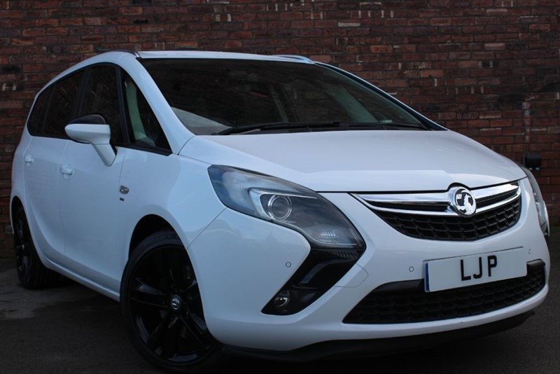 used Vauxhall Zafira Tourer SRI CDTI in yorkshire