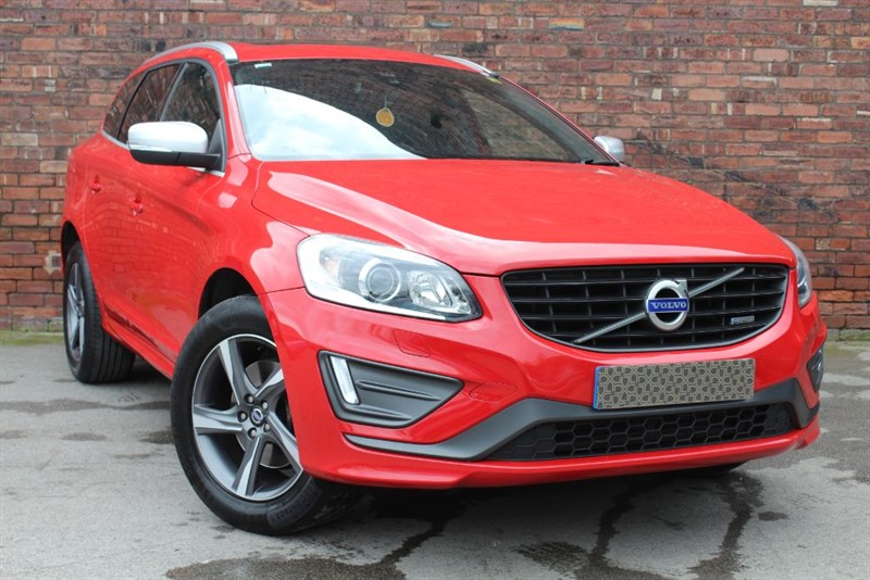 used Volvo XC60 D4 R-DESIGN in yorkshire
