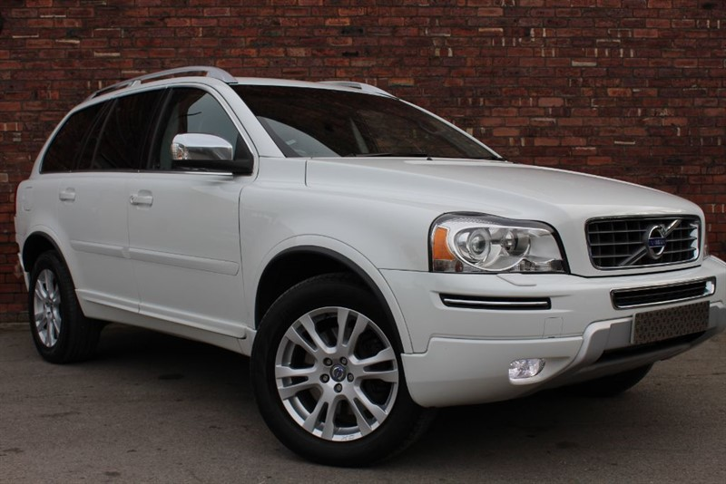 used Volvo XC90 D5 SE LUX AWD in yorkshire