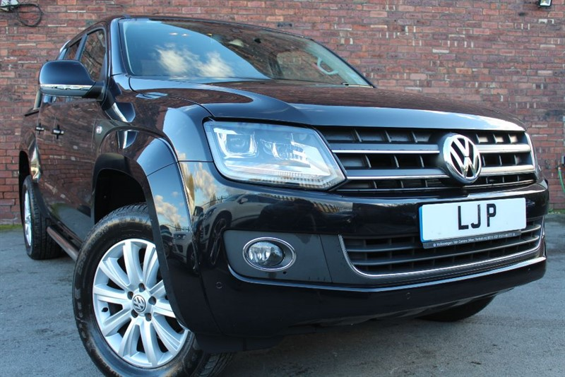 used VW Amarok DC TDI HIGHLINE 4MOTION in yorkshire