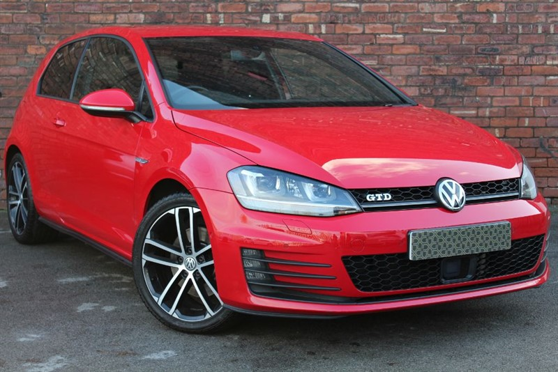 used VW Golf GTD 3d 182 BHP in yorkshire