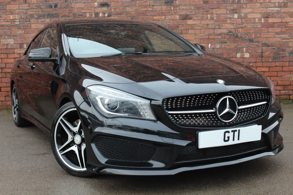 used black mercedes cla 220 cdi for sale west yorkshire. Black Bedroom Furniture Sets. Home Design Ideas