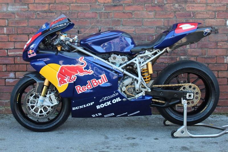 used Ducati 999 999R Ridden by Michael Rutter in huddersfield