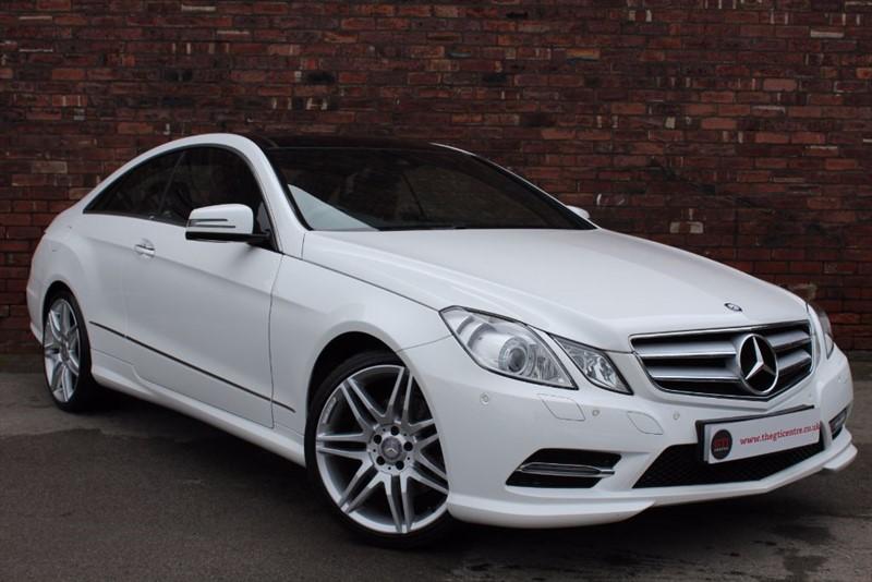 used Mercedes E200 CGI BLUEEFFICIENCY S/S SPORT in huddersfield