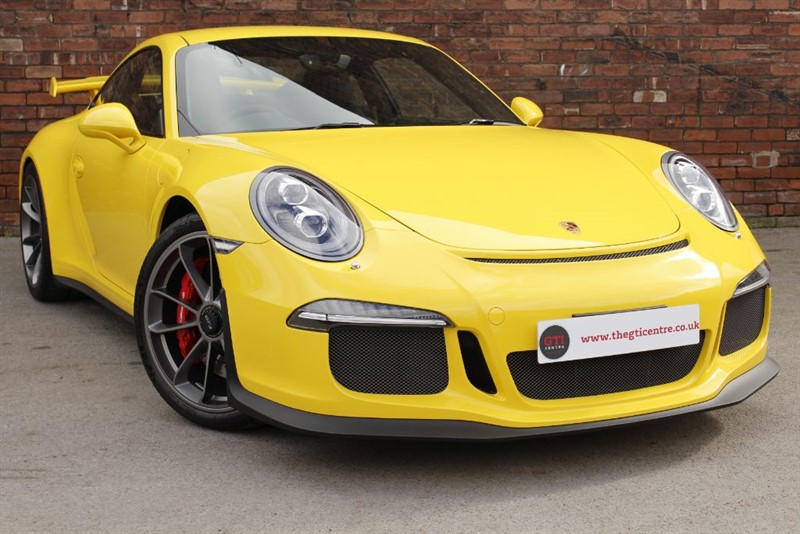 used Porsche 911 GT3 991 GT3 in huddersfield