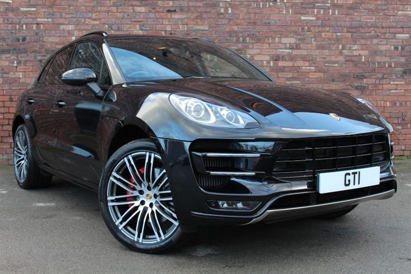 used Porsche Macan TURBO PDK in huddersfield
