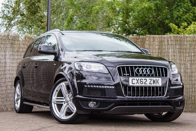 used Audi Q7 TDI QUATTRO S LINE PLUS S/S in witham-essex