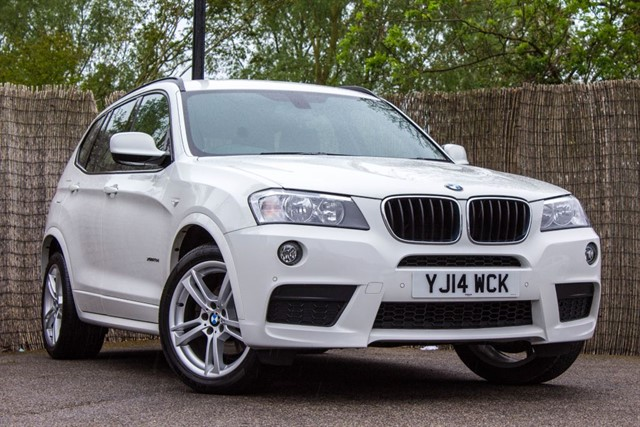 used BMW X3 XDRIVE20D M SPORT in witham-essex