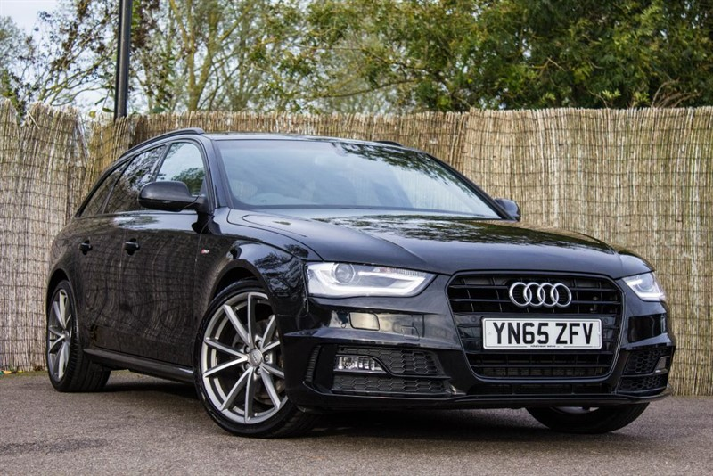 used Audi A4 Avant TDI S LINE BLACK EDITION NAV in witham-essex