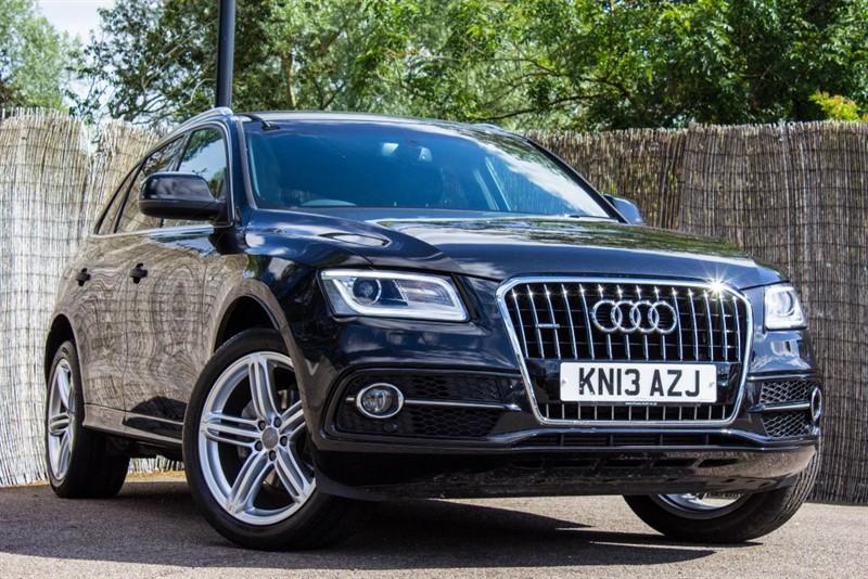 used Audi Q5 TDI QUATTRO S LINE PLUS in witham-essex
