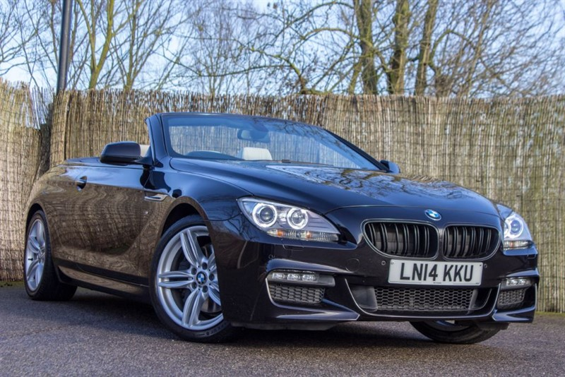 used BMW 640d M SPORT in witham-essex