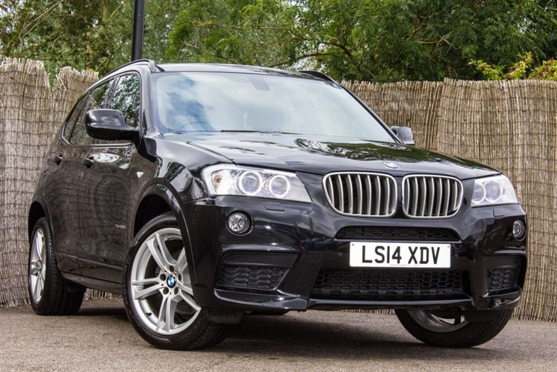 used BMW X3 XDRIVE30D M SPORT in witham-essex