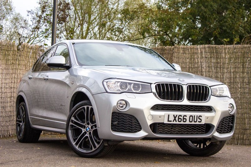 used BMW X4  XDRIVE20D M SPORT in witham-essex