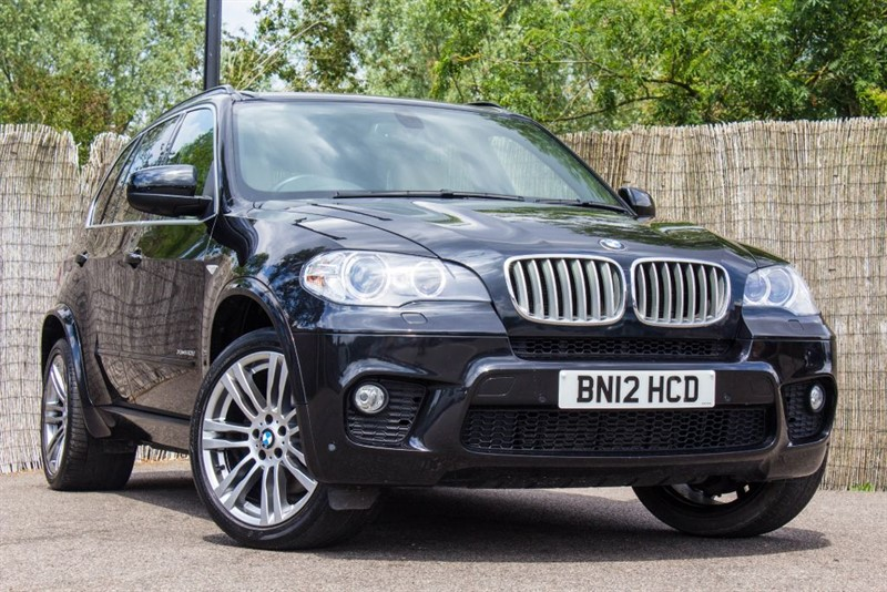 used BMW X5 XDRIVE40D M SPORT in witham-essex