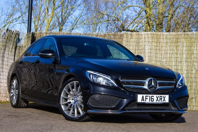 used Mercedes C220 D AMG LINE AUTO in witham-essex