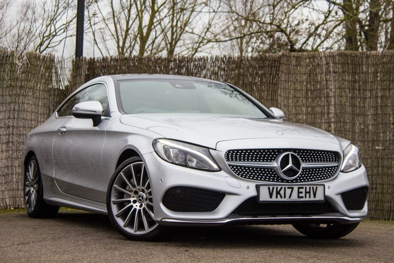 used Mercedes C250 C-CLASS D AMG LINE PREMIUM PLUS in witham-essex