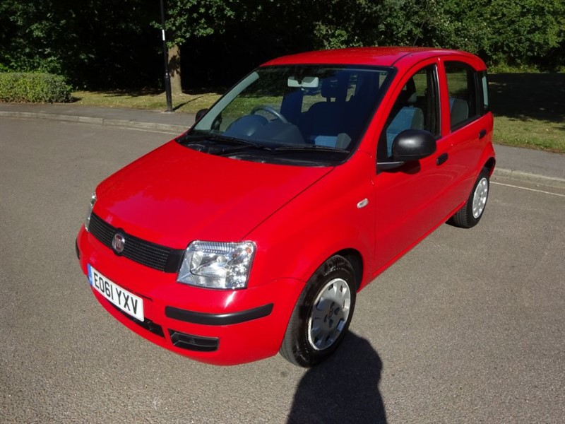 used Fiat Panda ACTIVE 5STR LOOK @ THE MILEAGE in west-sussex