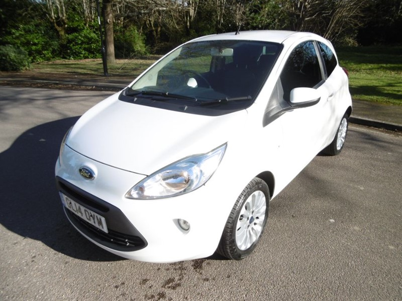 used Ford KA ZETEC 1 LADY OWNER  in west-sussex