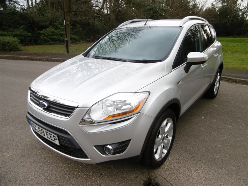 used Ford Kuga TITANIUM TDCI 2WD LOOK @ THE MILEAGE in west-sussex