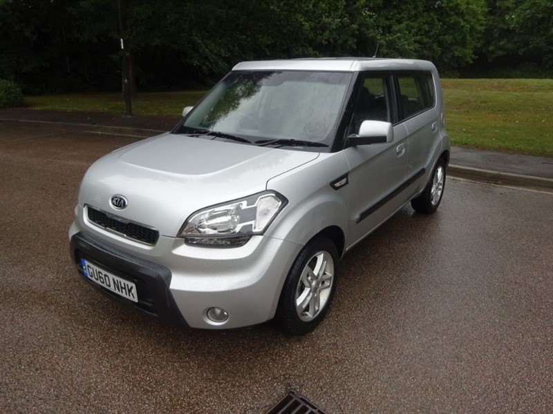 used Kia Soul 2 LOOK @ THE MILEAGE FULL SERVICE HISTORY in west-sussex