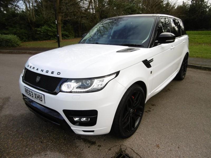 used Land Rover Range Rover Sport SDV6 HSE DERANGED in west-sussex