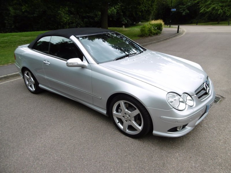 used Mercedes  CLK CLK350 SPORT FULL SERVICE HISTORY in west-sussex