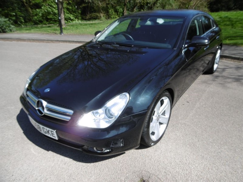 used Mercedes CLS CLS320 CDI FULL MERCEDES SERVICE HISTORY in west-sussex