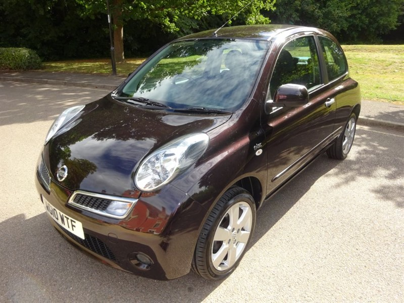 used Nissan Micra N-TEC FULL SERVICE HISTORY in west-sussex