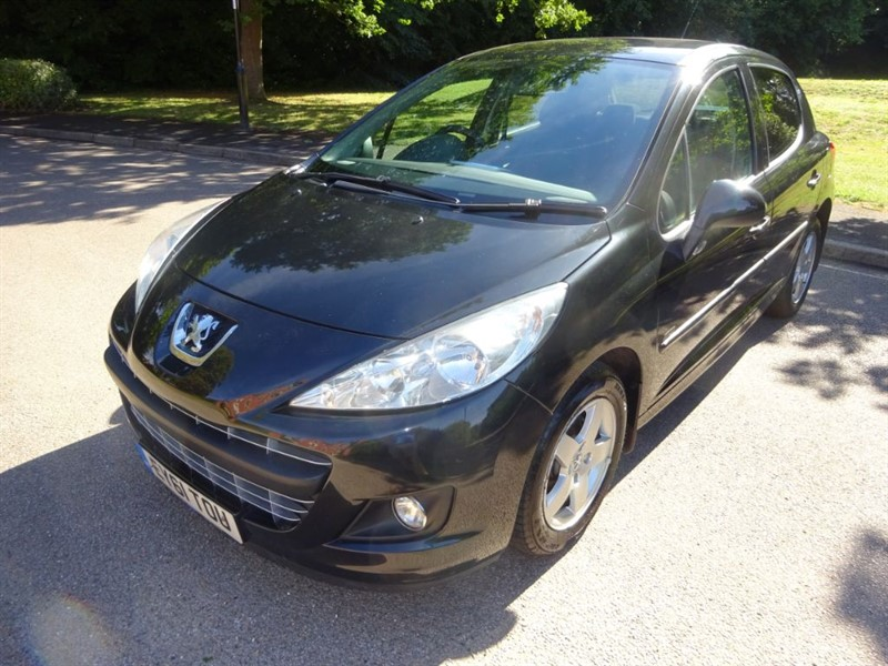used Peugeot 207 SPORTIUM FULL SERVICE HISTORY in west-sussex