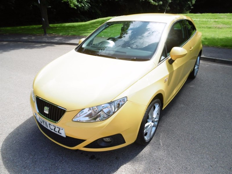 used SEAT Ibiza SPORT LOOK @ THE MILEAGE. in west-sussex