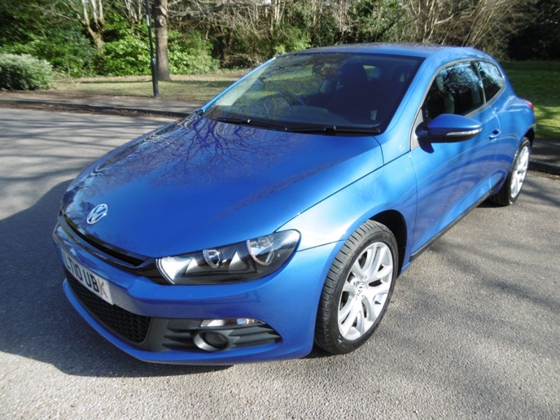used VW Scirocco TSI 160 LOOK @ THE MILEAGE  in west-sussex