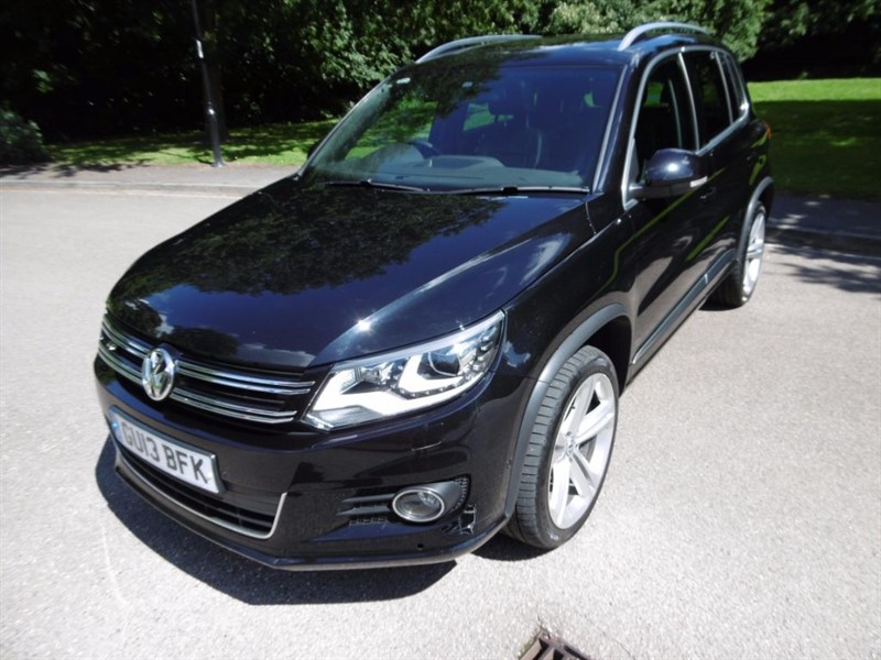 used VW Tiguan R LINE TDI BLUEMOTION TECH 4MOTION DSG in west-sussex