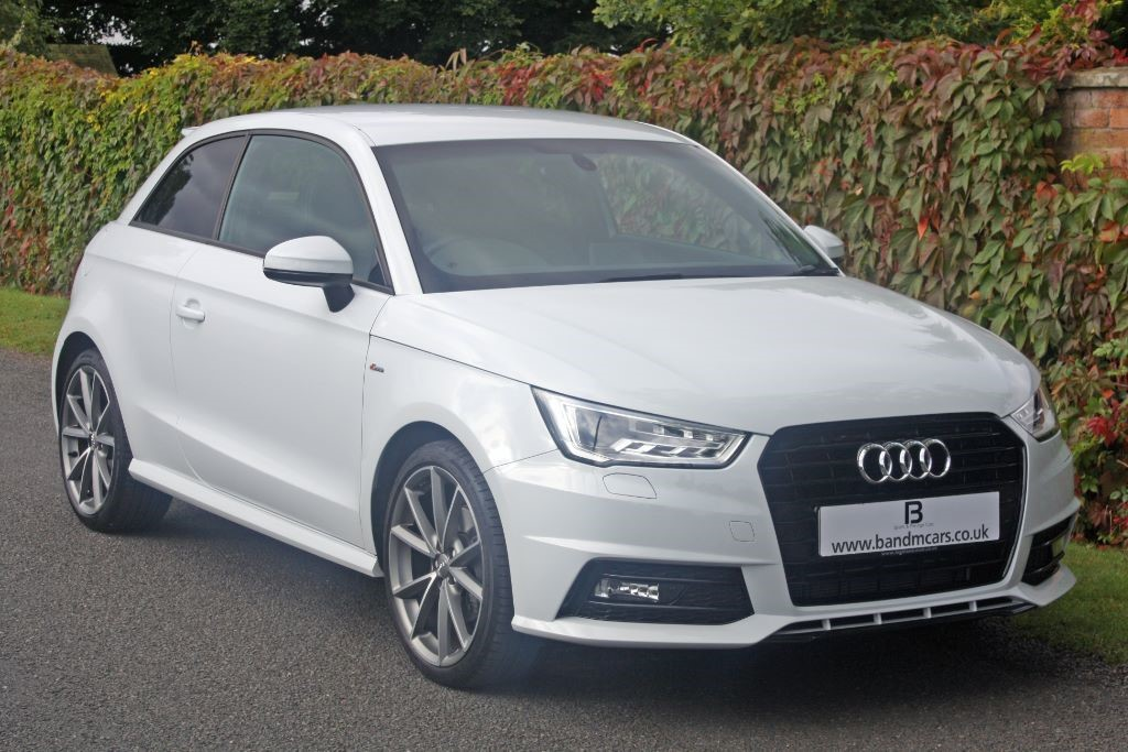 audi a1 tfsi s line black edition for sale stratford. Black Bedroom Furniture Sets. Home Design Ideas
