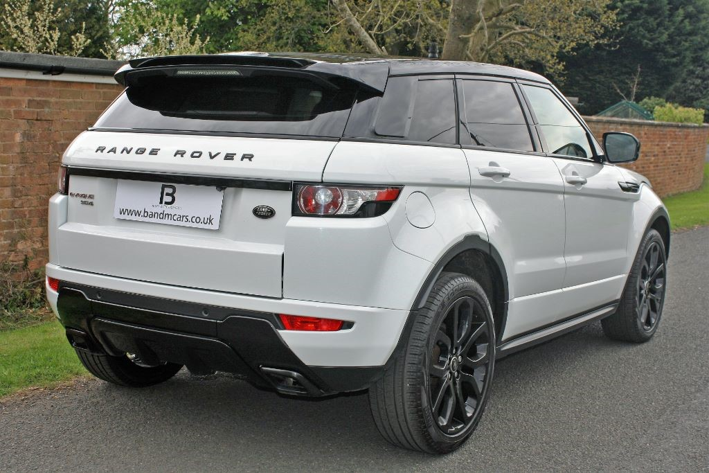 land rover range rover evoque sd4 dynamic lux for sale stratford upon avon warwickshire b. Black Bedroom Furniture Sets. Home Design Ideas