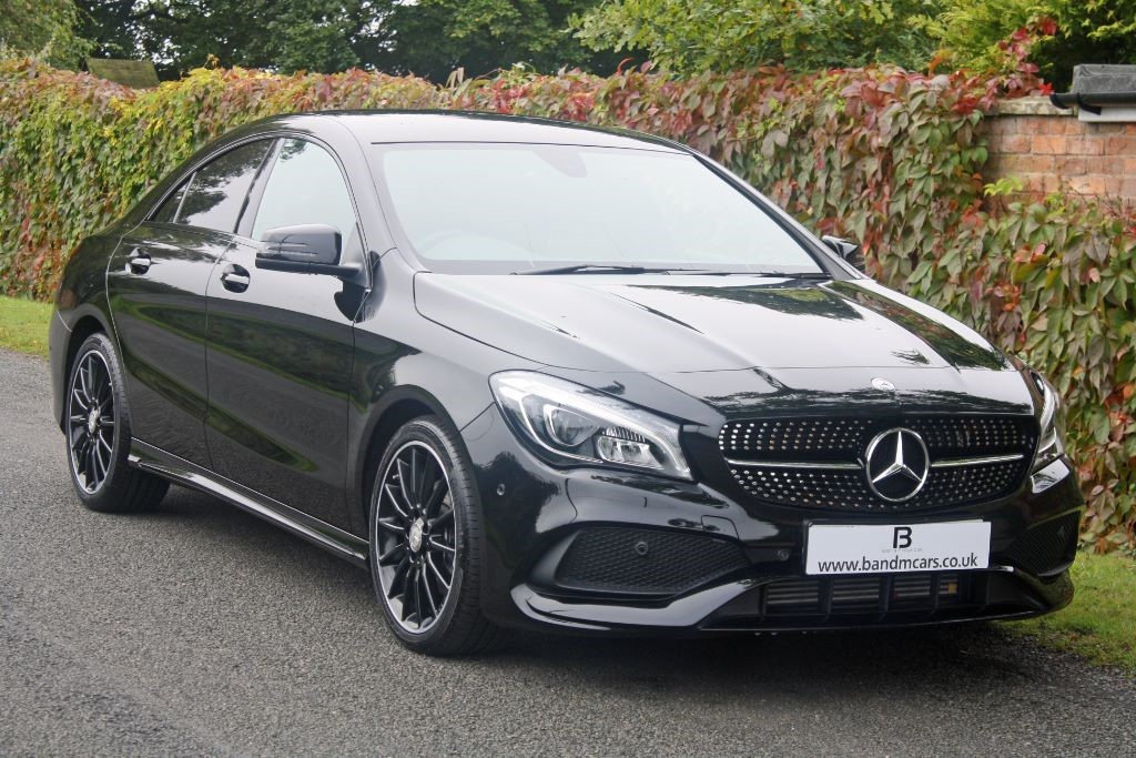 mercedes cla cla 180 amg line for sale stratford upon. Black Bedroom Furniture Sets. Home Design Ideas